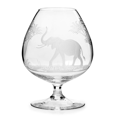 Queen Lace Brandy Snifter Elephant