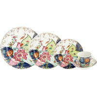 Mottahedeh Tobacco Leaf 5 Piece Place Setting