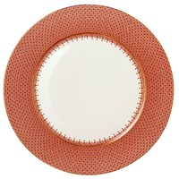 Mottahedeh Red Lace Charger / Presentation Plate