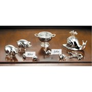 Ercuis Silverplated Snail Place Card Holders, Set of 6