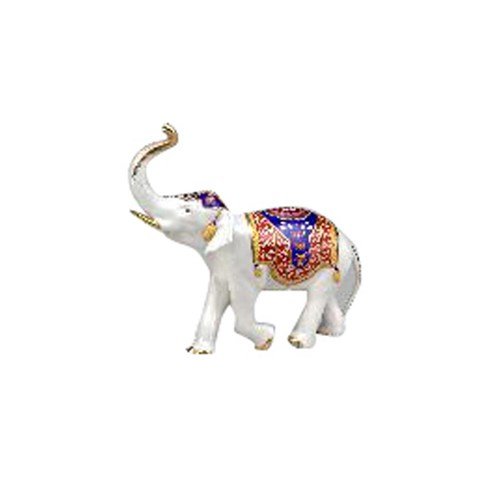 Large Porcelain Elephant