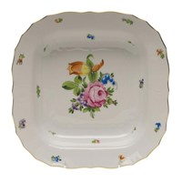 Herend Printemps Square Fruit Dish
