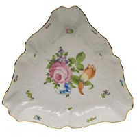 Herend Printemps Triangle Dish