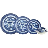 Mottahedeh Blue Canton 5 Piece Place Setting