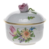 Herend Printemps Covered Sugar Bowl, Small