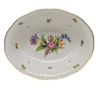 Herend Printemps Oval Vegetable Dish