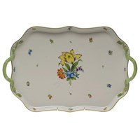 Herend Printemps Rectangular Tray with Handles