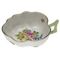 Herend Printemps Small Deep Leaf Dish