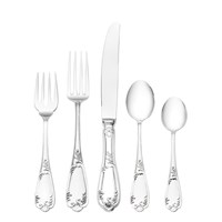 Wallace Venezia Sterling Silver 5-Piece Continental Place Setting