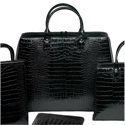Large Paris Travel Bag - Black