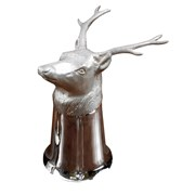 Silverplated Stag Stirrup Cup