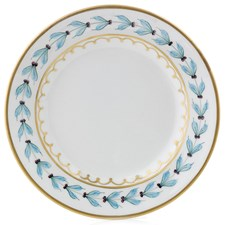 Blue Leaf Bread & Butter Plate