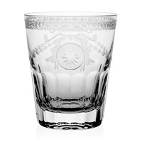 William Yeoward Crystal Pearl Tumbler Double Old Fashioned