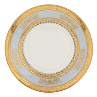 Philippe Deshoulieres Orsay Powder Blue Tea Saucer