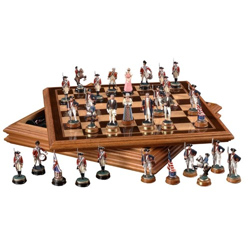American Revolution Chess Set