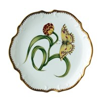Anna Weatherley Morning Glory Butterfly Bread & Butter Plate