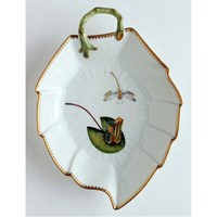 Anna Weatherley Seascape Waterlily Leaf Dish
