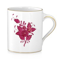 Herend Chinese Bouquet Raspberry Mug, Large