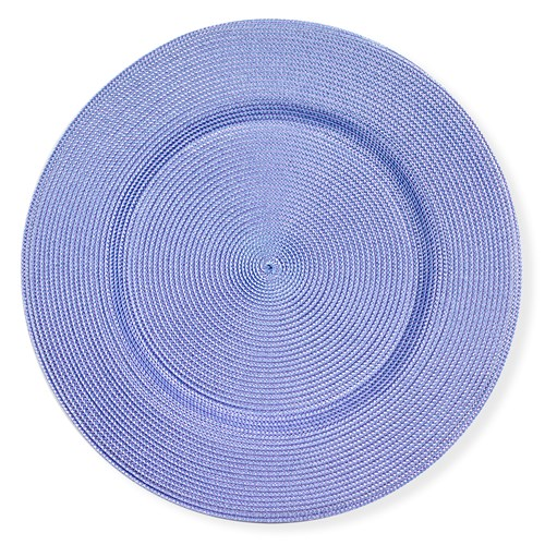 Charger Braided Placemat, Lilac