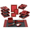 Florentine Leather Library Set