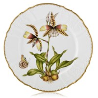 Anna Weatherly Orchid Dinner Plate #4