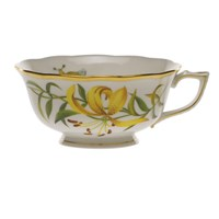 Herend American Wildflowers Meadow Lily Tea Cup