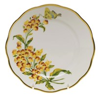 Herend American Wildflowers Butterfly Weed Bread & Butter Plate