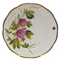 Herend American Wildflowers Passion Flower Bread & Butter Plate