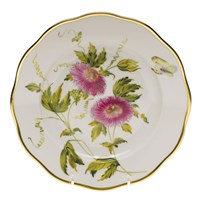 Herend American Wildflowers Passion Flower Dessert Plate