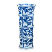 Mottahedeh Blue & White Bamboo