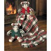 Dress Stewart Tartan Baby Blanket