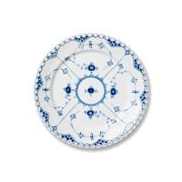 Royal Copenhagen Blue Fluted Full Lace Salad Plate