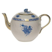 Herend Chinese Bouquet Blue Coffee Pot, Small