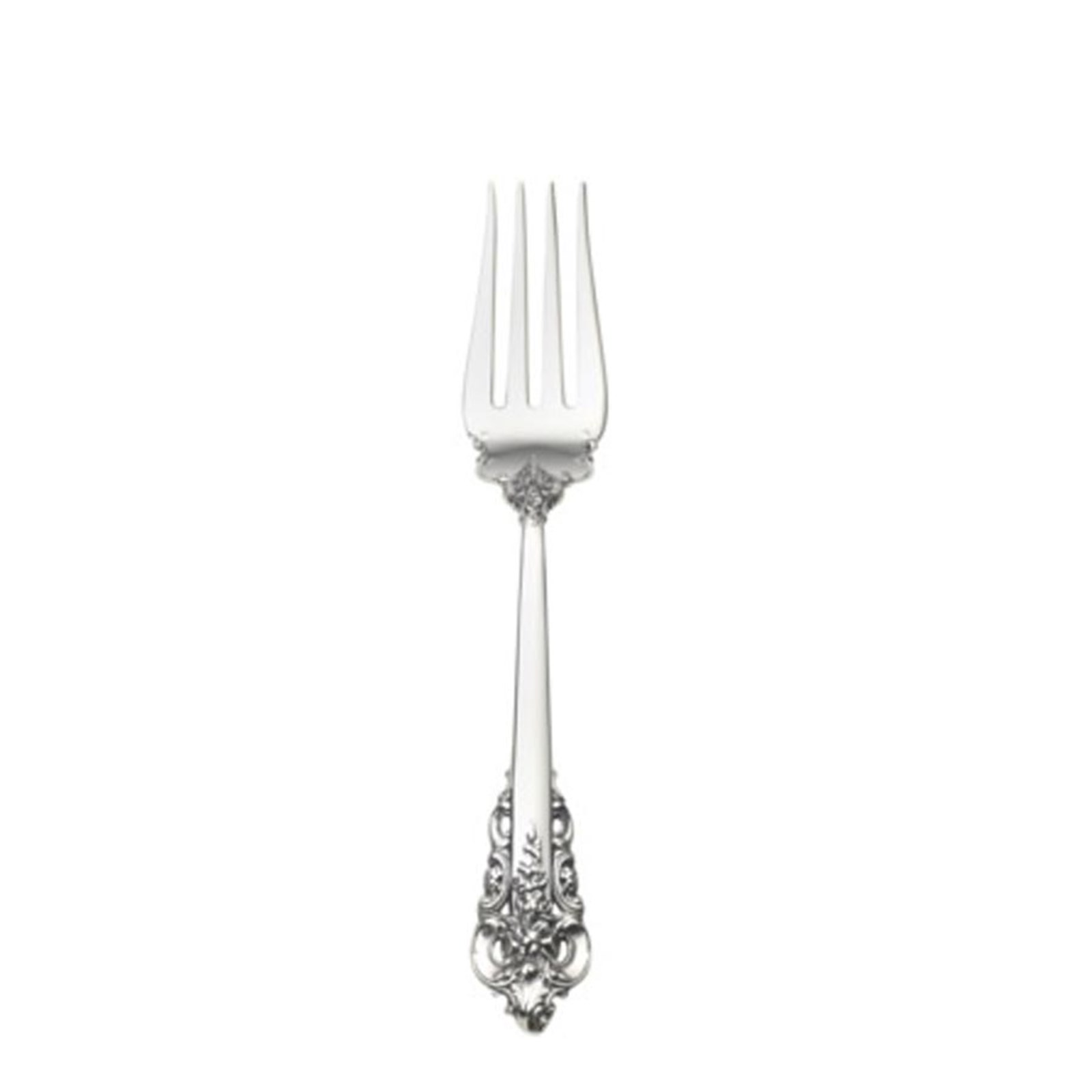 Grande Baroque Cocktail Fork Wallace Sterling Silver 1941