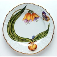 Anna Weatherly Flowers of Yesterday Dinner Plate Yellow Tulip