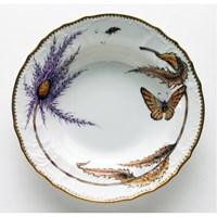 Anna Weatherley Thistle Rim Soup Bowl