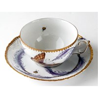 Anna Weatherley Thistle Cup & Saucer