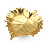 William Yeoward Gold Leaf Dish, Vine