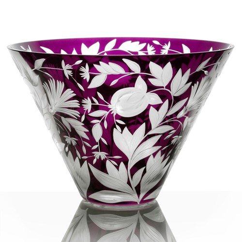 Artel Verdure Large Purple Bowl