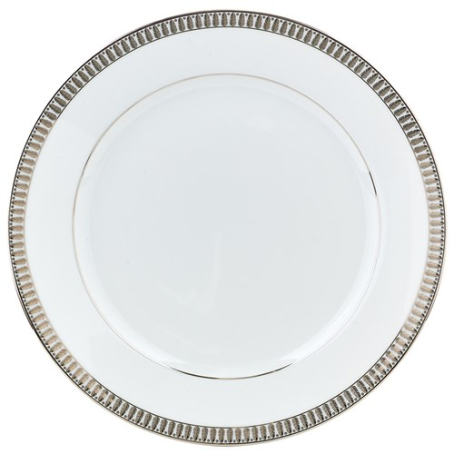 Haviland Plumes Platinum Dinner Plate