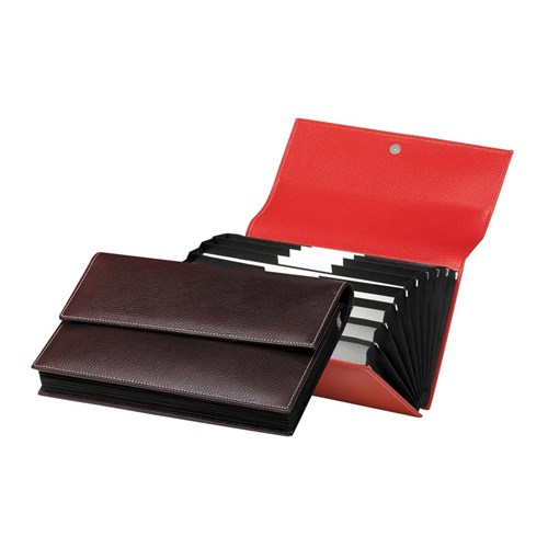 Document Holder Small Red
