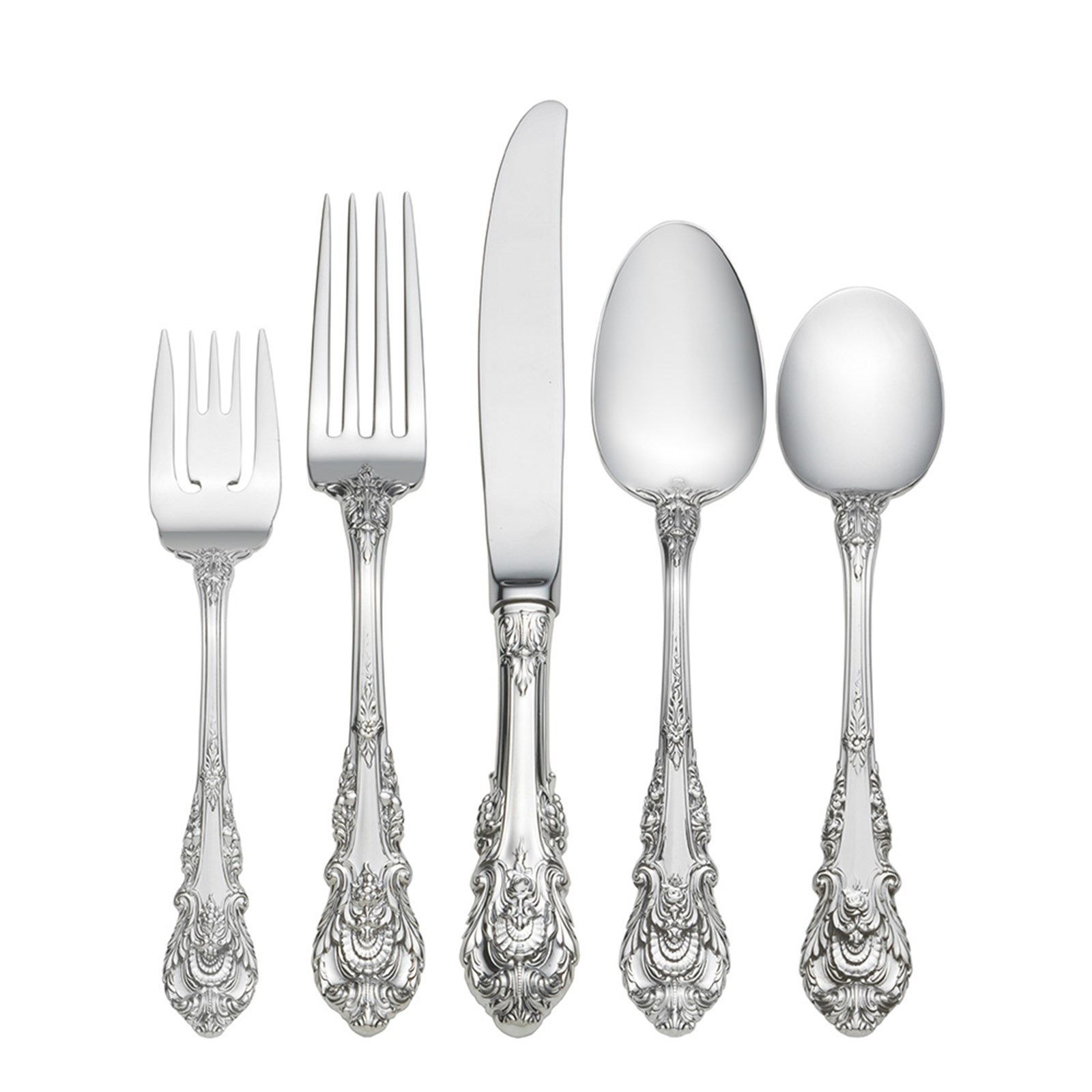 Sir Christopher by Wallace Sterling Silver Cream Soup Spoon