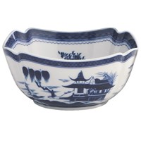 Mottahedeh Blue Canton Square Bowl, Large