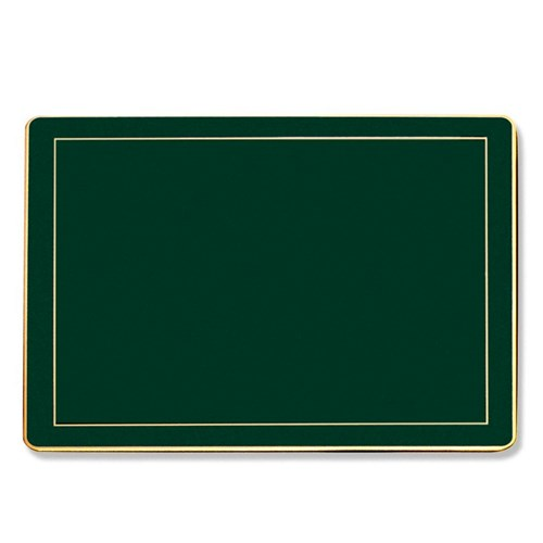 Medium Table Mat Green, Set of 4