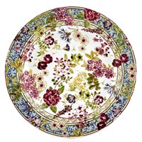 Gien Millefleurs Canape Plate