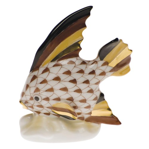 Fish Table Ornament Chocolate
