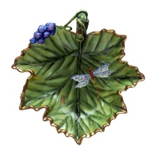 Anna Weatherley Accessory Dish with Grapes