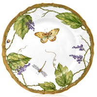 Anna Weatherley Wildberry Lavender Dinner Plate