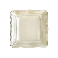 Gien Pont aux Choux Cream Square Fruit Bowl