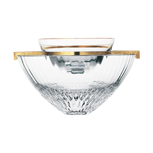 St. Louis Apollo Gold Caviar Server